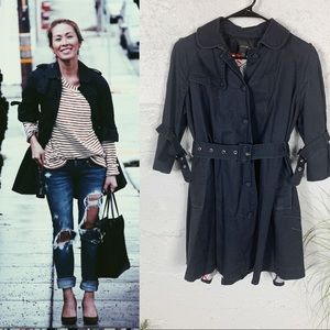 Joes Jeans 3/4 sleeve Trench Coat
